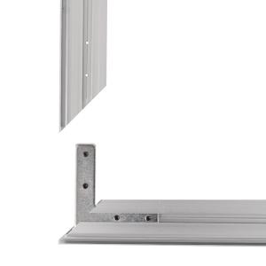 Cadres Suspendu Aluminium Tissu Tendu 50x50cm Profilés 26mm