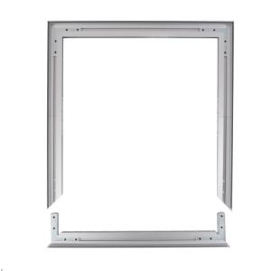 Cadres Autoportant Aluminium Tissu Tendu 100x100cm Profilés 49mm