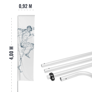 Maszty flagowe aluminiowe - AxOx Media