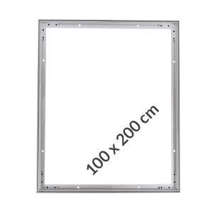 Cadres Aluminium Tissu Tendu 100x200cm Profilés 20mm