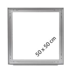 Cadres Autoportant Aluminium Tissu Tendu 50x50cm Profilés 49mm