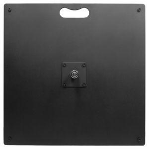 Platine carrée métalique 20kg 58x58cm