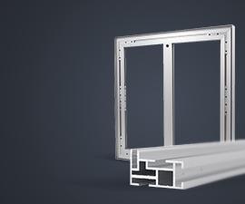 cadres en aluminium pour étirer les tissus